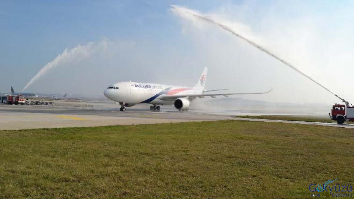 Malaysia Airlines Sabiha Gökçen'e uçuyor