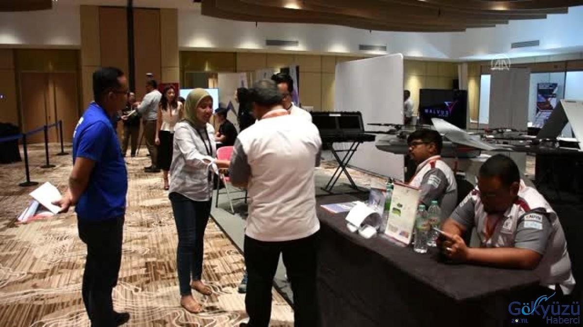 Malezya İnsansız Hava Araçları Konferansı'nda Türk İHA'ları