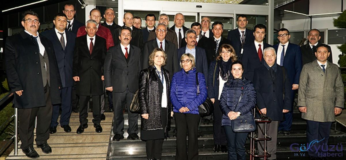 Mehmet Ateş bu kez Trabzon Havalimanı'nda!