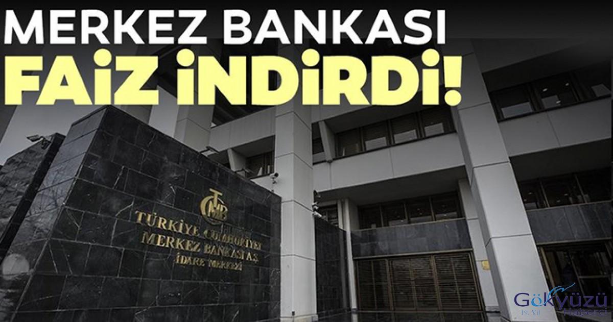 Merkez Bankası faiz indirdi: 4,5 yıl sonra bir ilk!