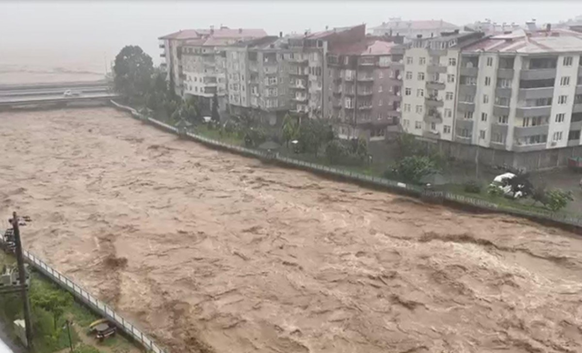 Meteoroloji'den 'şiddetli yağış' uyarısı