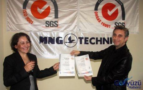 MNG Technic, kalitesini tescilletti