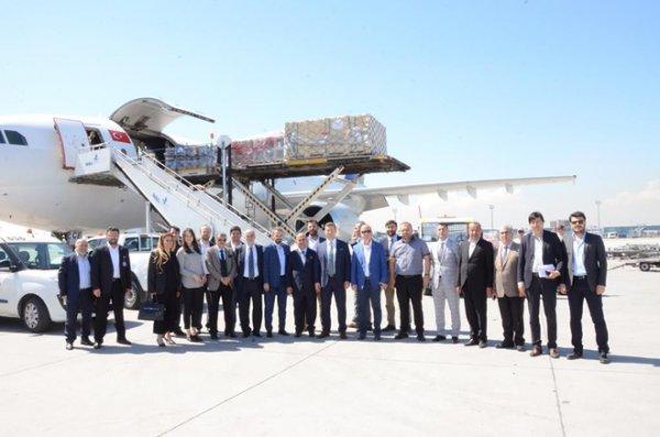 MÜSİAD İzmir'den İstanbul'a Lojistik Çıkarması