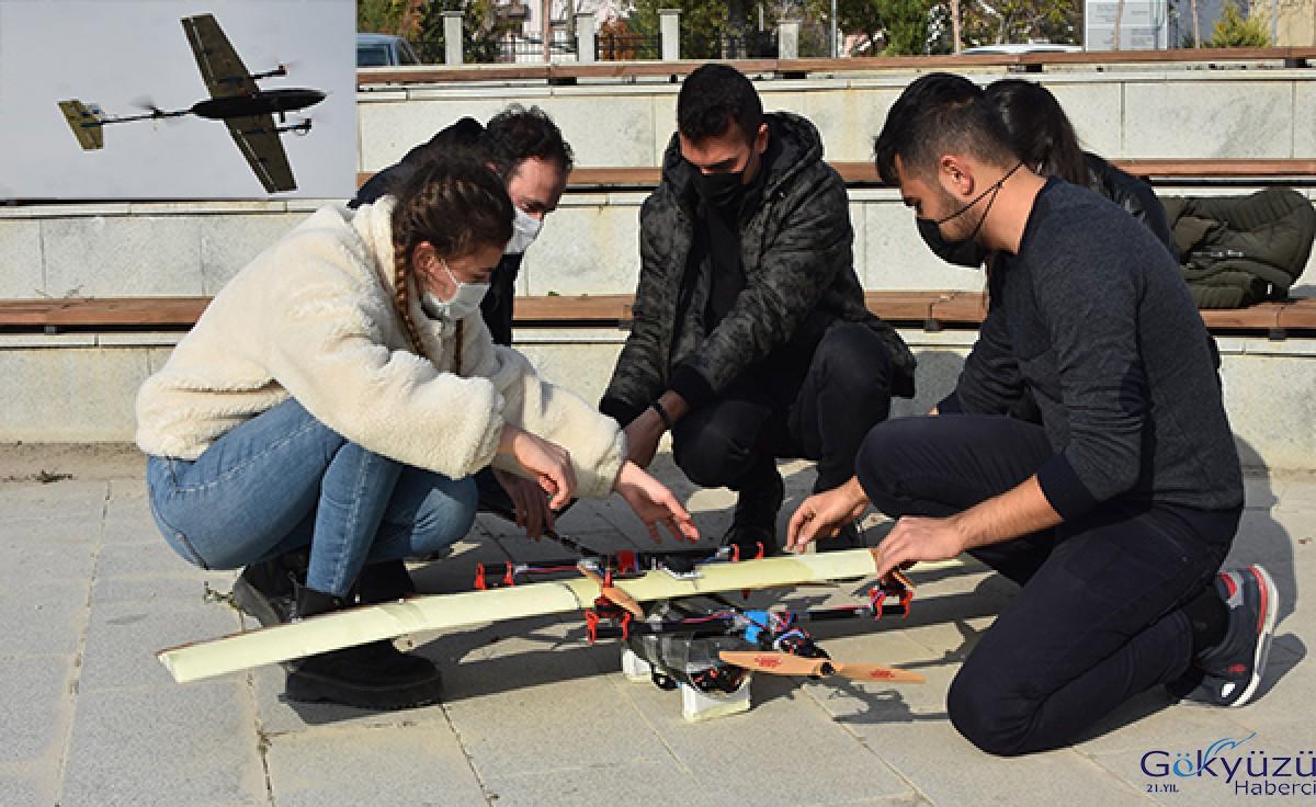 Necmettin Erbakan Üniversitesi öğrencilerinin İHA başarısı