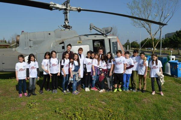 Öğrenciler'den Uzay Bilimleri Fakültesine Ziyaret