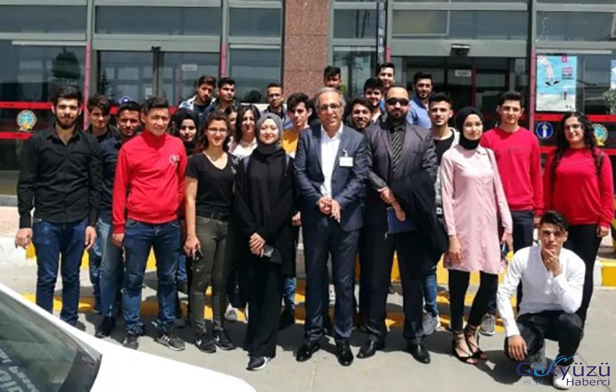 Öğrencilerinden Gaziantep Havalimanı'na Teknik Gezi