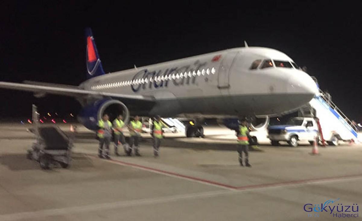 Onur Air uçağı büyük tehlike atlattı!