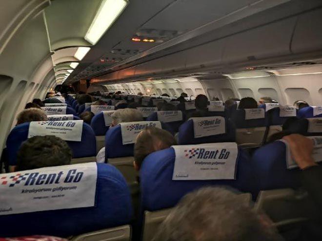 Onur Air uçağı havada uçağa çarpıyormuş!
