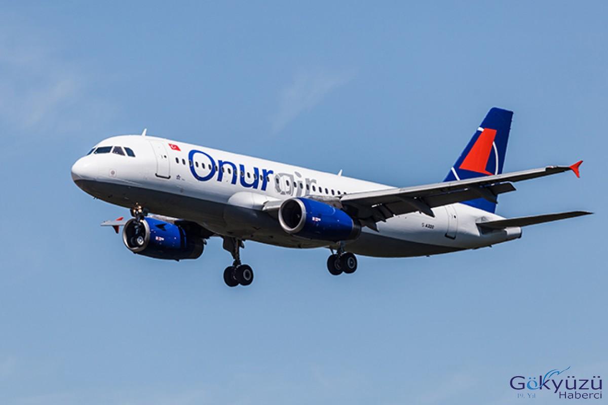 Onur Air'den 3 Yeni Uçuş Noktası