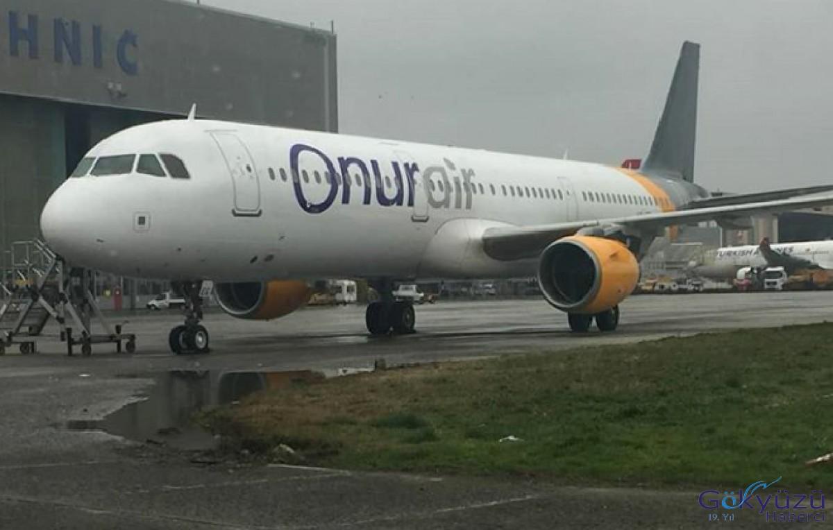 Onur Air'in yeni A321'i filoya katıldı!