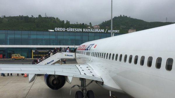 Ordu-Giresun havaalanı 1 milyonu zorluyor
