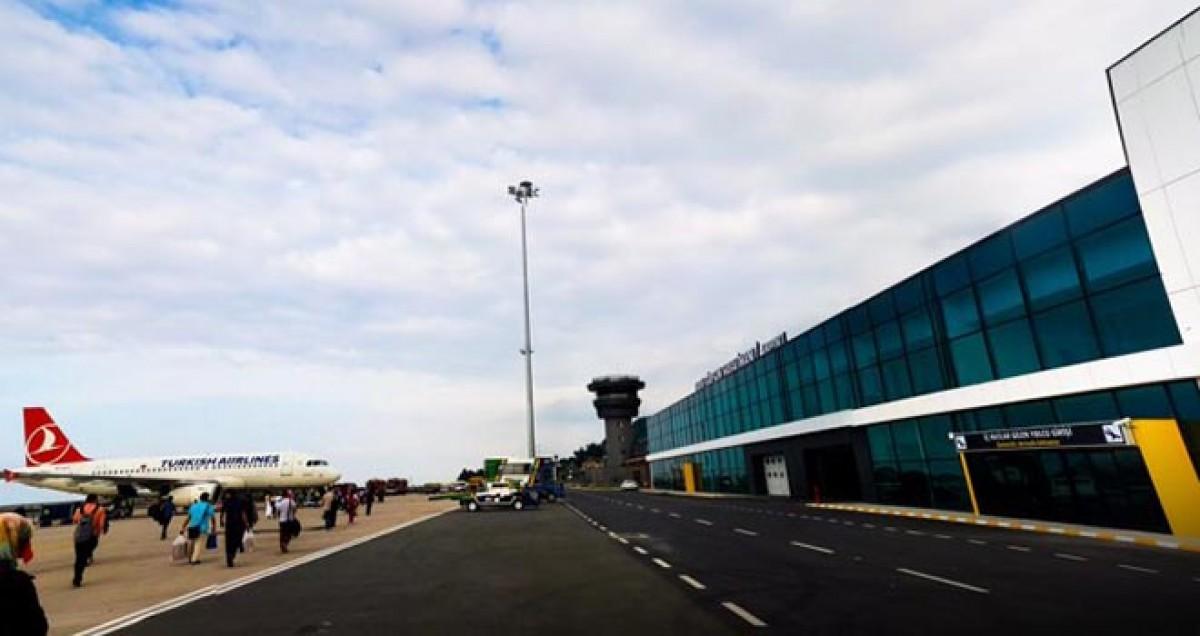 Ordu-Giresun Havalimanı'nda yolcu yüzde 9 azaldı!
