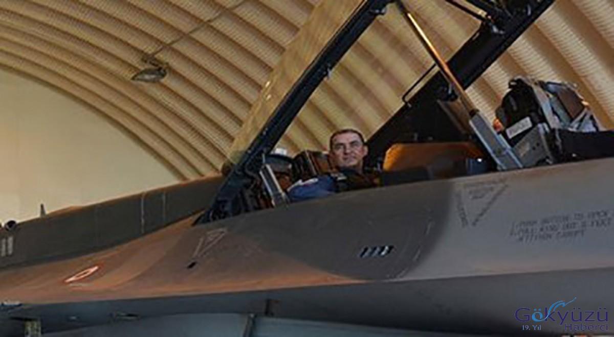Orgeneral Küçükakyüz F-16 ile operasyona gitti!