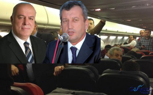 Özel uçakta protokol krizi yaşandı