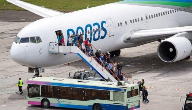 Pegas Fly havayolu Antalya'da