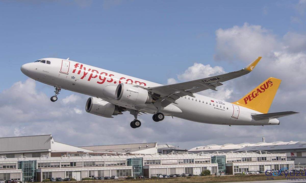 #Pegasus, Ağustos ayı uçuş listesini açıkladı