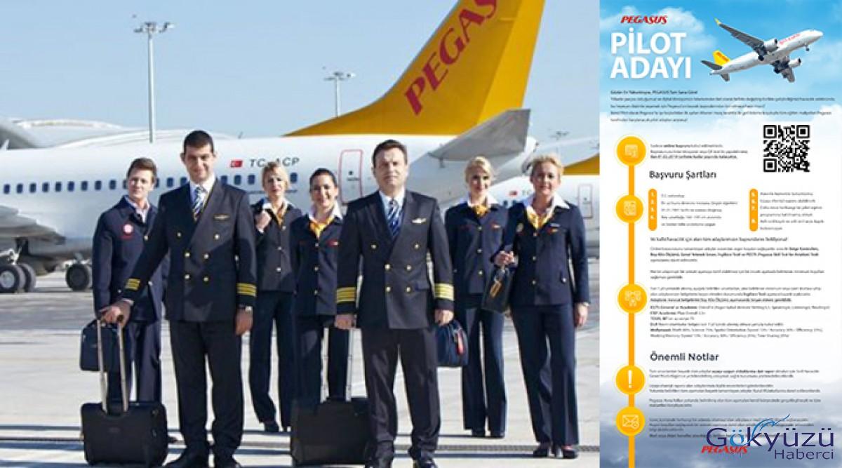 Pegasus Havayolları pilot alımı yapacak!