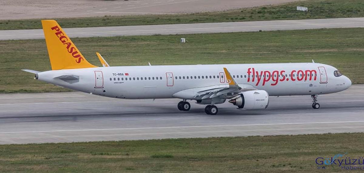 Pegasus Havayolları Yeni  Airbus uçağını teslim aldı!