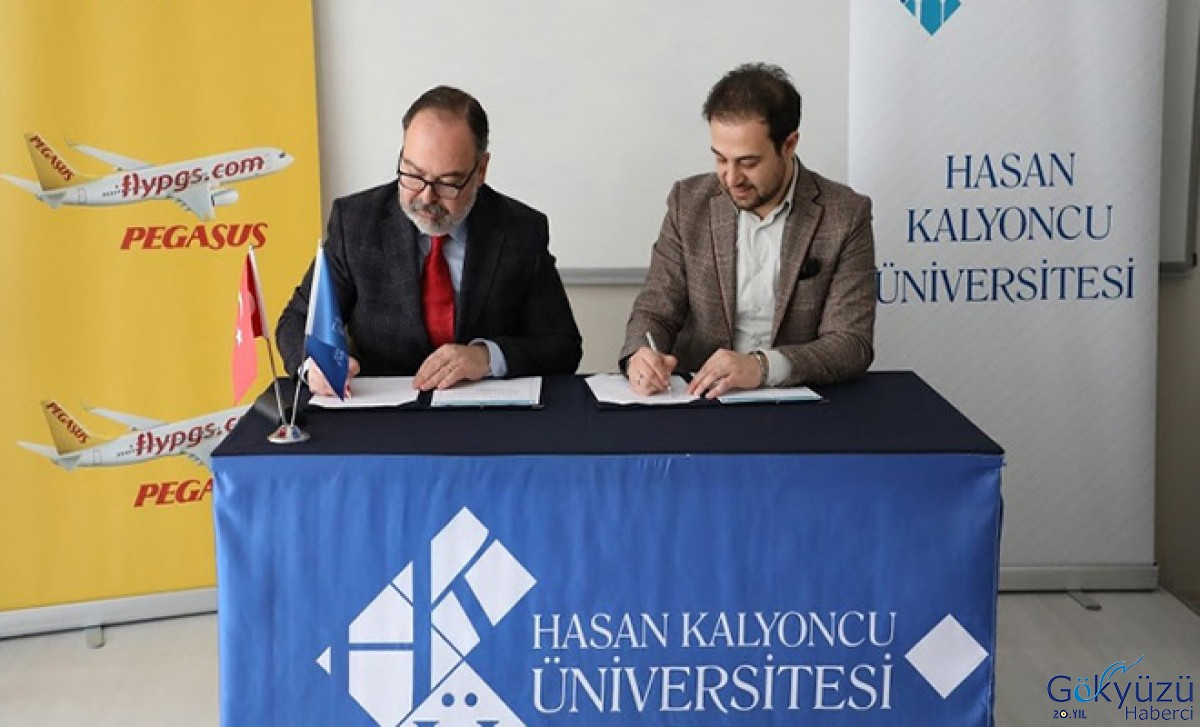 Pegasus ile HKÜ arasında yeni protokol imzalandı