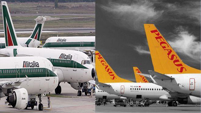 Pegasus İtalyan Alitalia ile ortak uçacak!