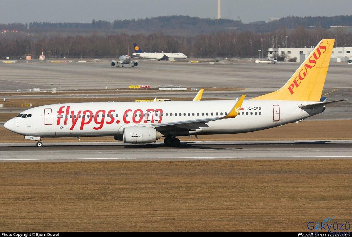 Pegasus uçağı İstanbul'a döndü!