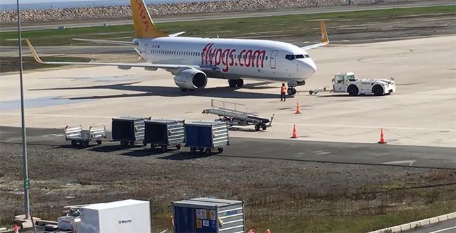 Pegasus uçağı Ordu-Giresun'a inemedi!