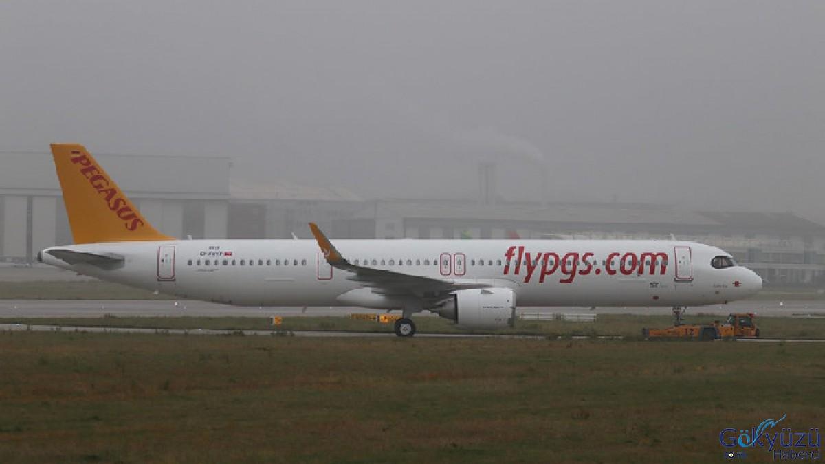Pegasus'un ikinci A321Neo'su geliyor