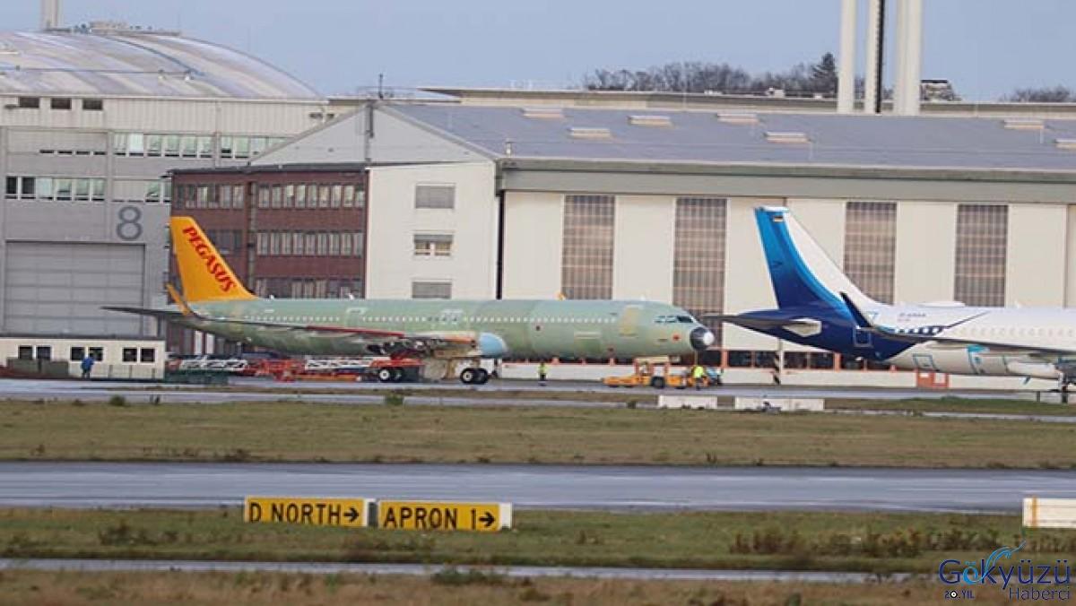Pegasus'un ikinci A321Neo'su görüntülendi