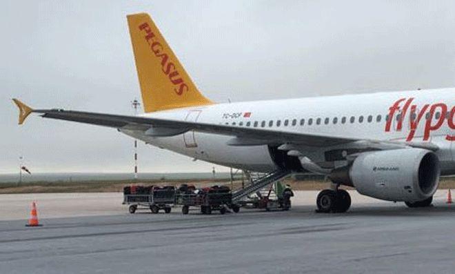Pegasusu uçuşunda valizinden eşyaları çalındı!