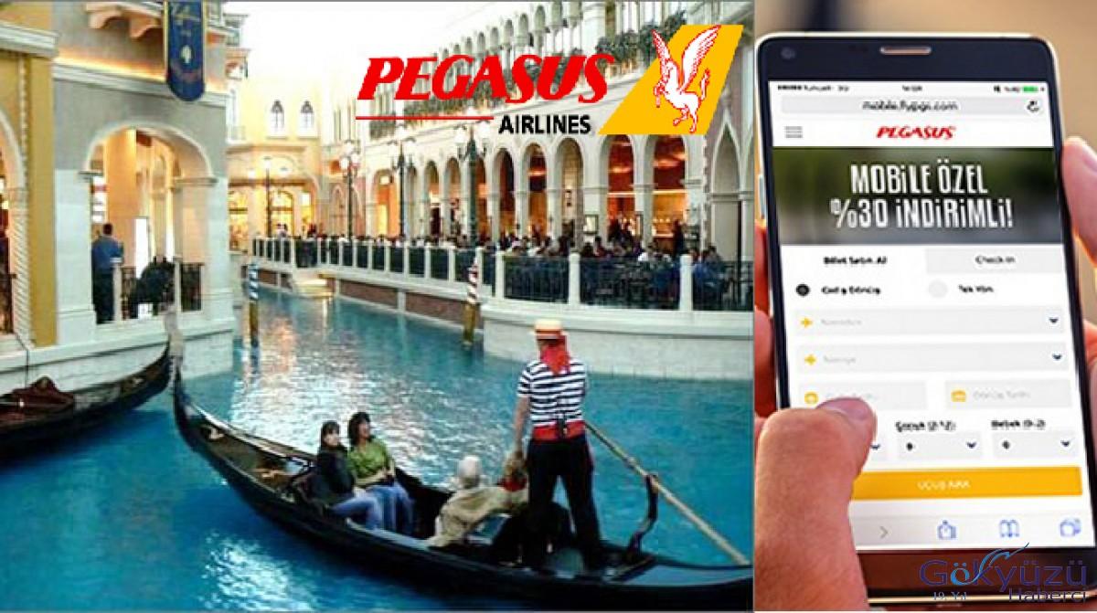 Pegasus'un yeni hattı Venedik