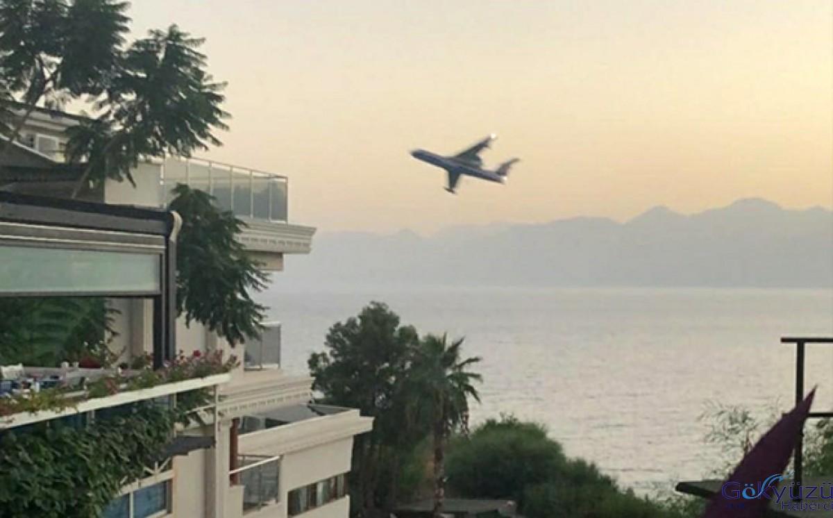 Pilot, Antalya kuleyi yanlış anlamış