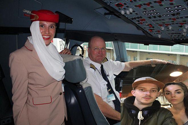 Pilot Bayan Yolcuyu Uçaktan İndirdiler!