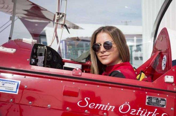 Pilot Semin Öztürk: Yükseklik Korkum Var