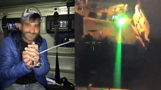 Pilotların korkulu rüyası yakalanıp serbest bırakıldı!