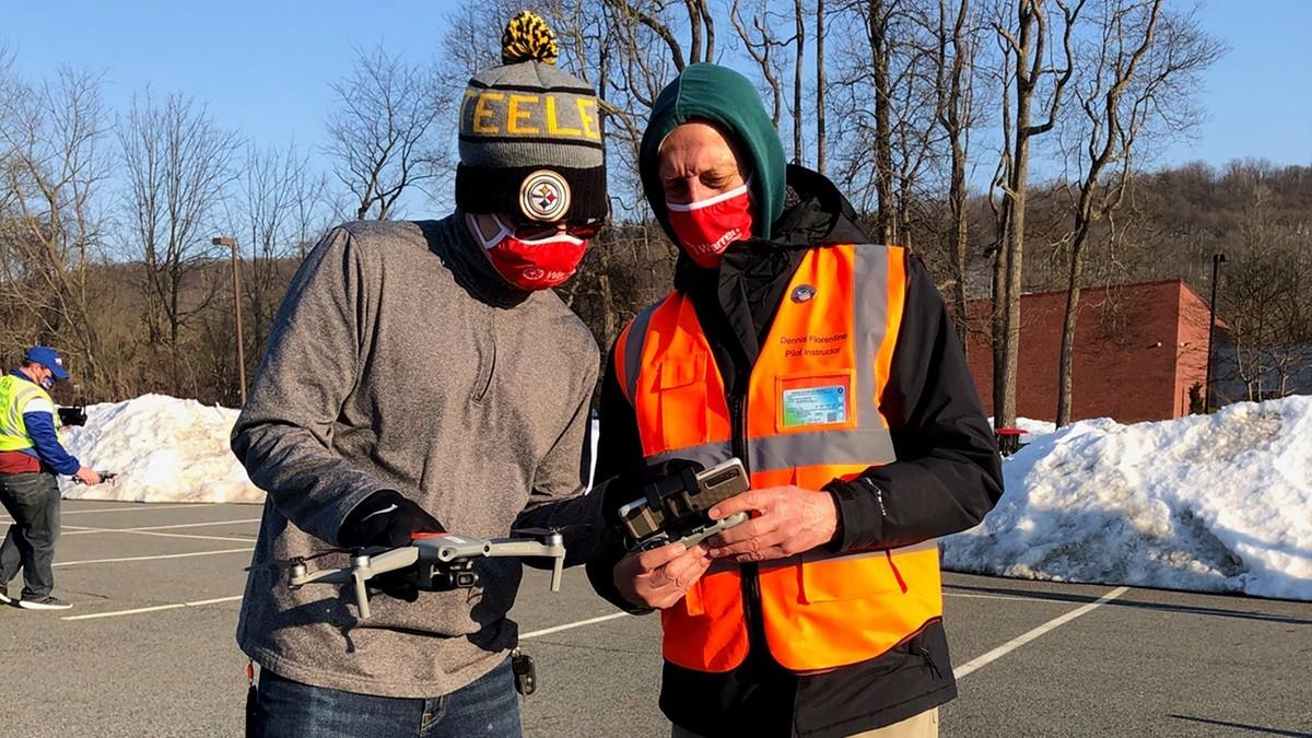 #Profesyonel drone pilotları