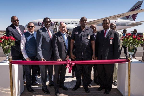 Qatar Airways'ın Yeni Uçuş Rotası Namibya'nın Başkenti  Windhoek