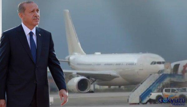 Rakipsiz Başkanın yeni uçağı geldi