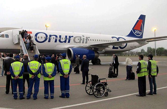 Rizeli Yolcu ONUR Air Uçağında Öldü