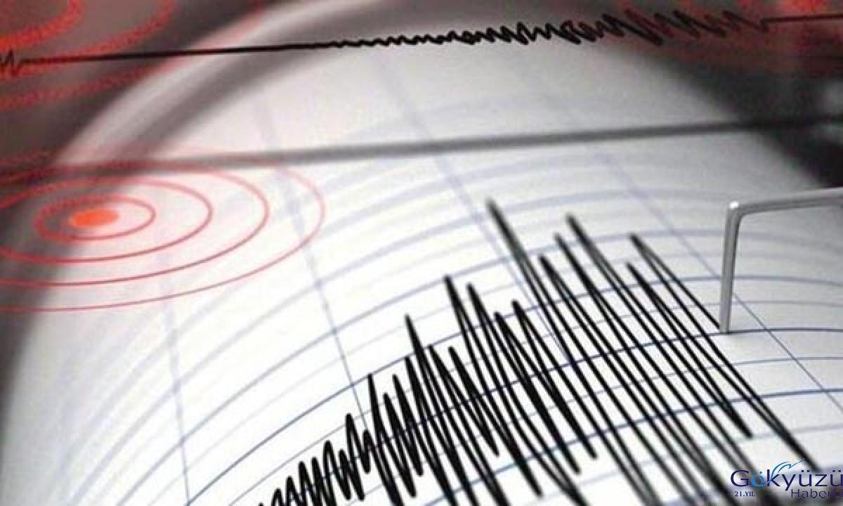 Saat 17.48'de 4.7 büyüklüğünde deprem
