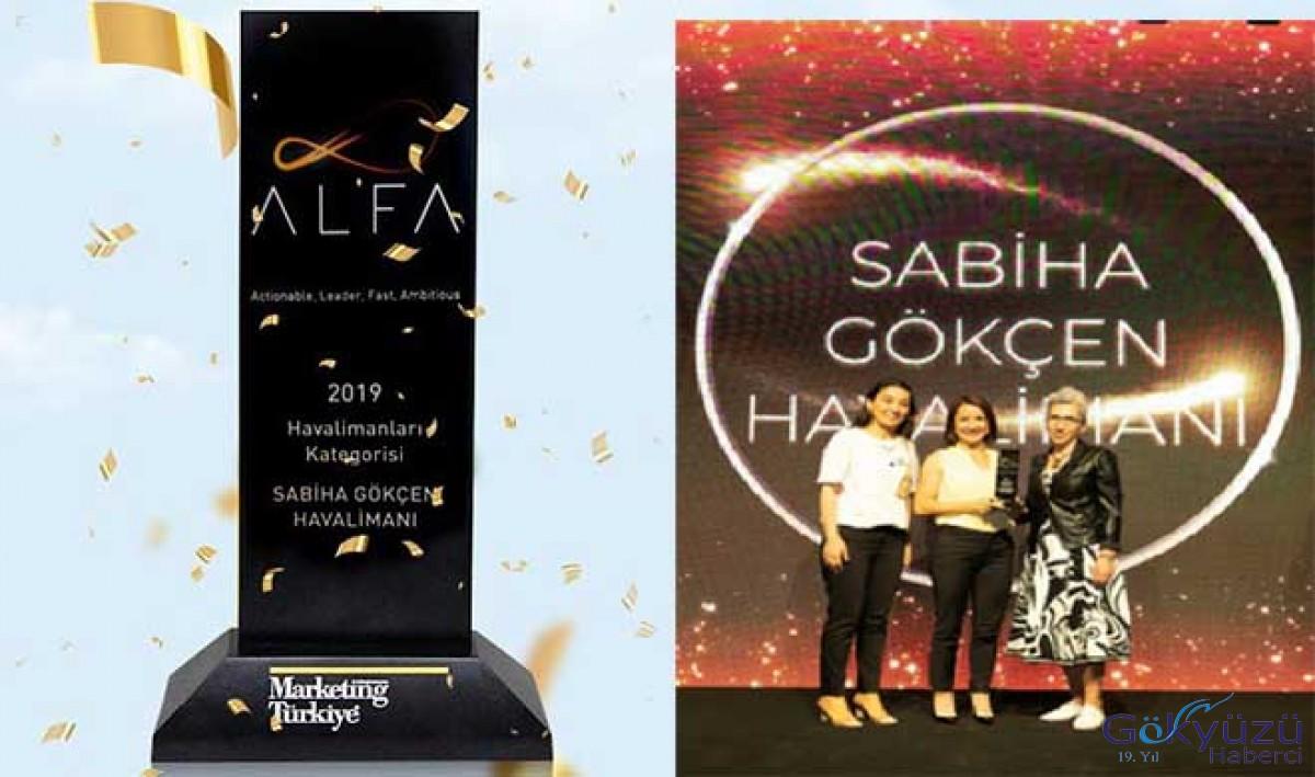 Sabiha Gökçen Havalimanı'na bir ödül daha!