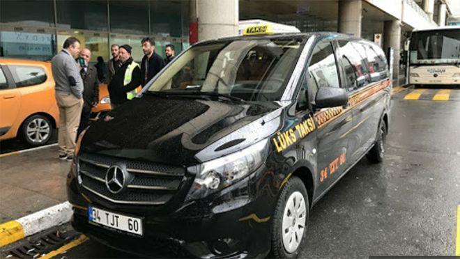 Sabiha Gökçen Havalimanı'nda lüks taksi hizmeti!