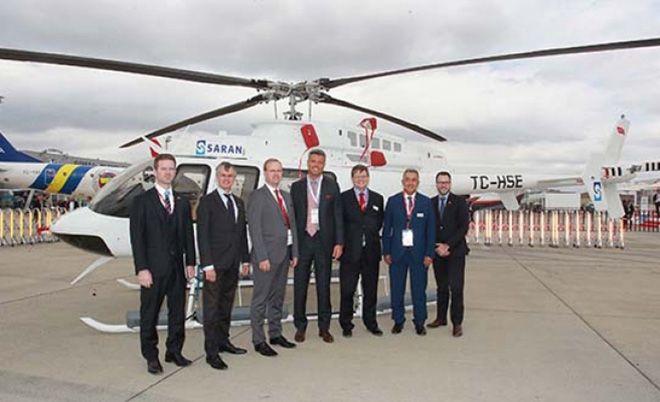 Saran Havacılık Airshow'a Bell 429 ile katılacak