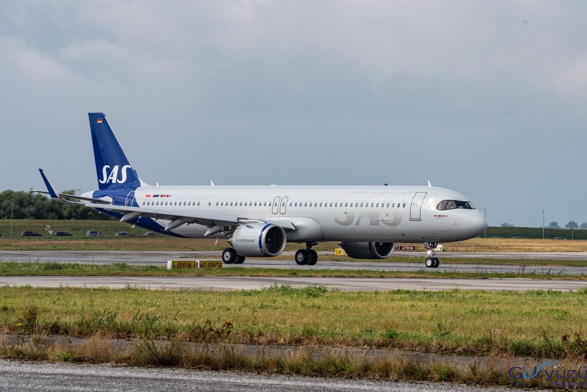 SAS,jet yakıtı kullanan ilk A321LR'sini teslim aldı