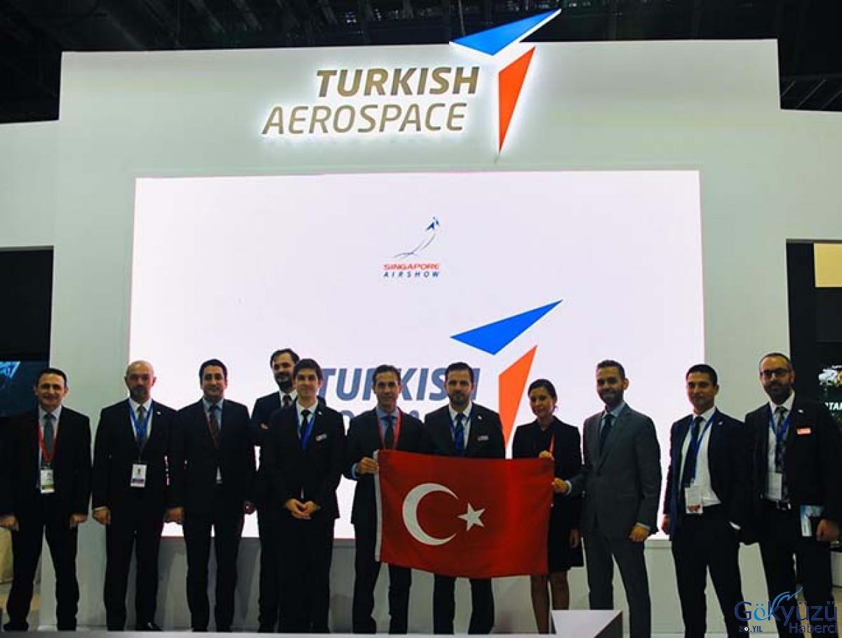 Singapore Airshow 2020 Turkish Aerospace yoğun ilgi