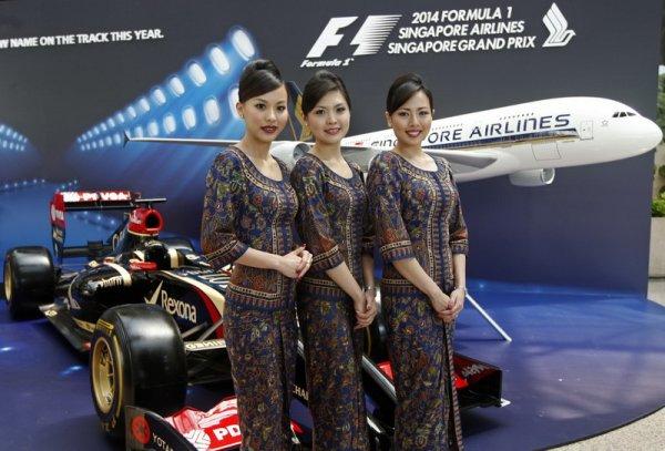 Singapur Airlines F1'de Piste Müziğin Devleriyle çıkıyor !