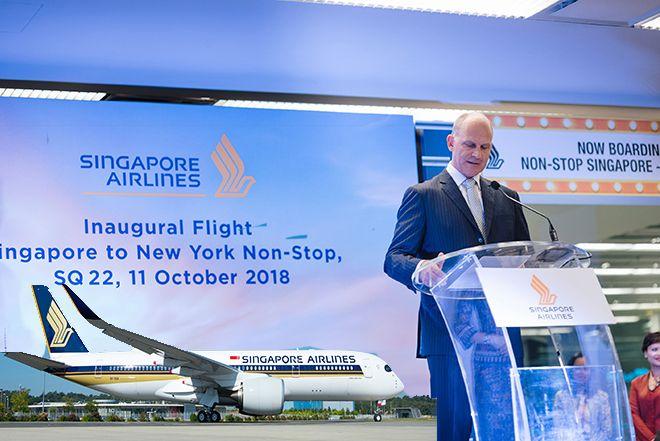 Singapur Havayolları en uzun uçuşu gerçekleştirdi!