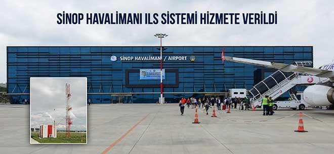 Sinop Havalimanı'na ILS kuruldu!