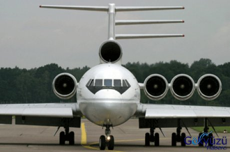 Bu sefer soçi kentinden havalanıp moskova vnukova havaalanı