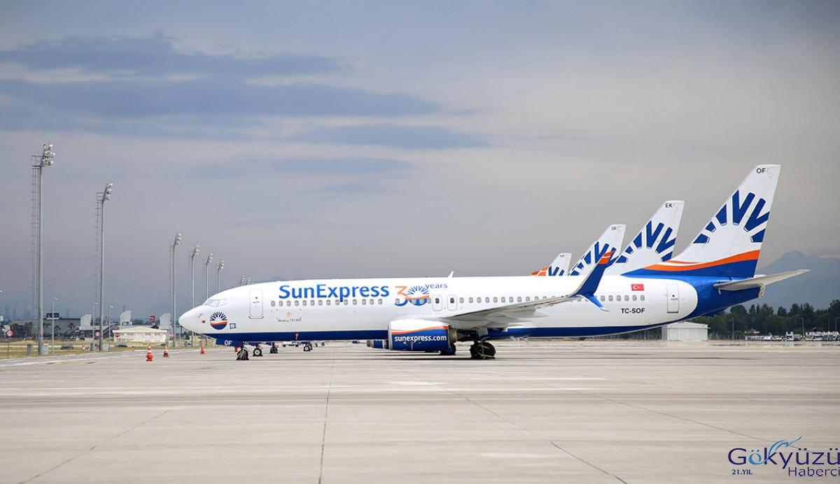 SunExpress, dış hat uçuşlarına başladı