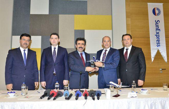 SunExpress, Diyarbakır'ı Avrupa'ya bağlıyor
